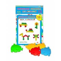 Мозаика напольная для малышей 15 дет.