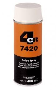 Краска аэрозольная Glitter Spray Декоративное покрытие Глиттер Красный