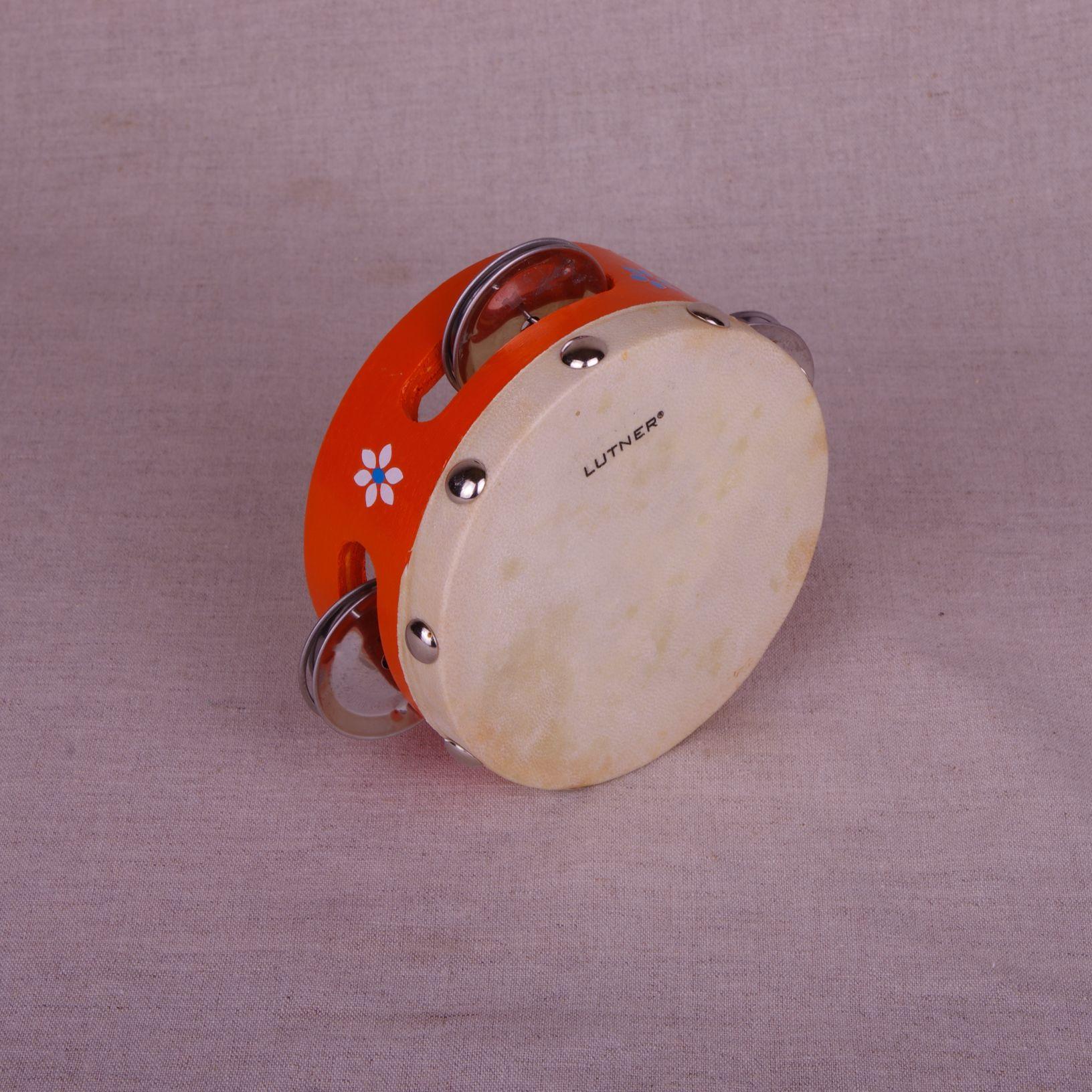 Музыкальная Бубен с натяжкой D=15см деревян.