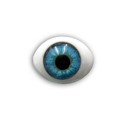 Глазки 10шт для игрушек голубые