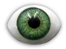 Глазки 10шт для кукол зеленые