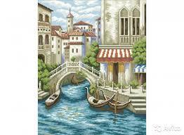 Картина стразами 40*50 Венеция
