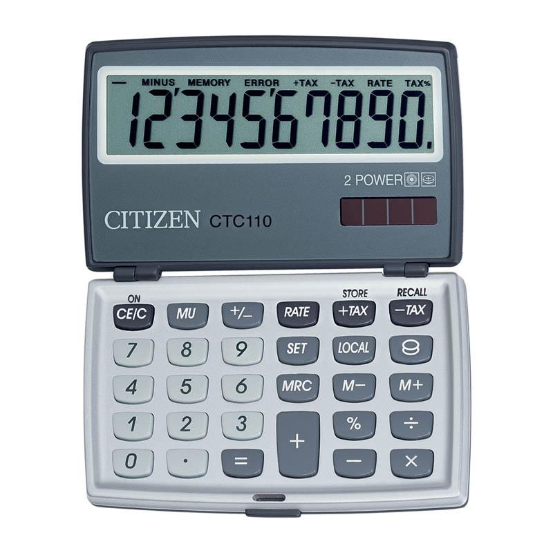 Калькулятор 10 разр. CITIZEN складной