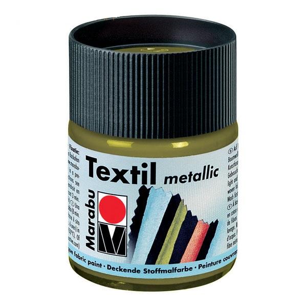 Краска по ткани Textil Metallic золото 15мл
