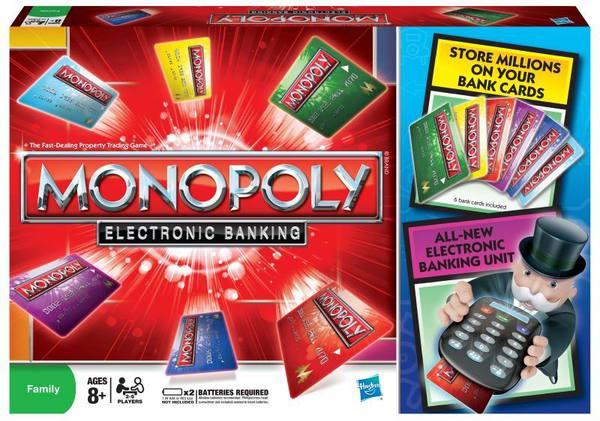 Настольная Монополия с банковскими карточками