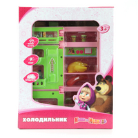 Холодильник Маша и Медведь батар., свет, звук, пласт.