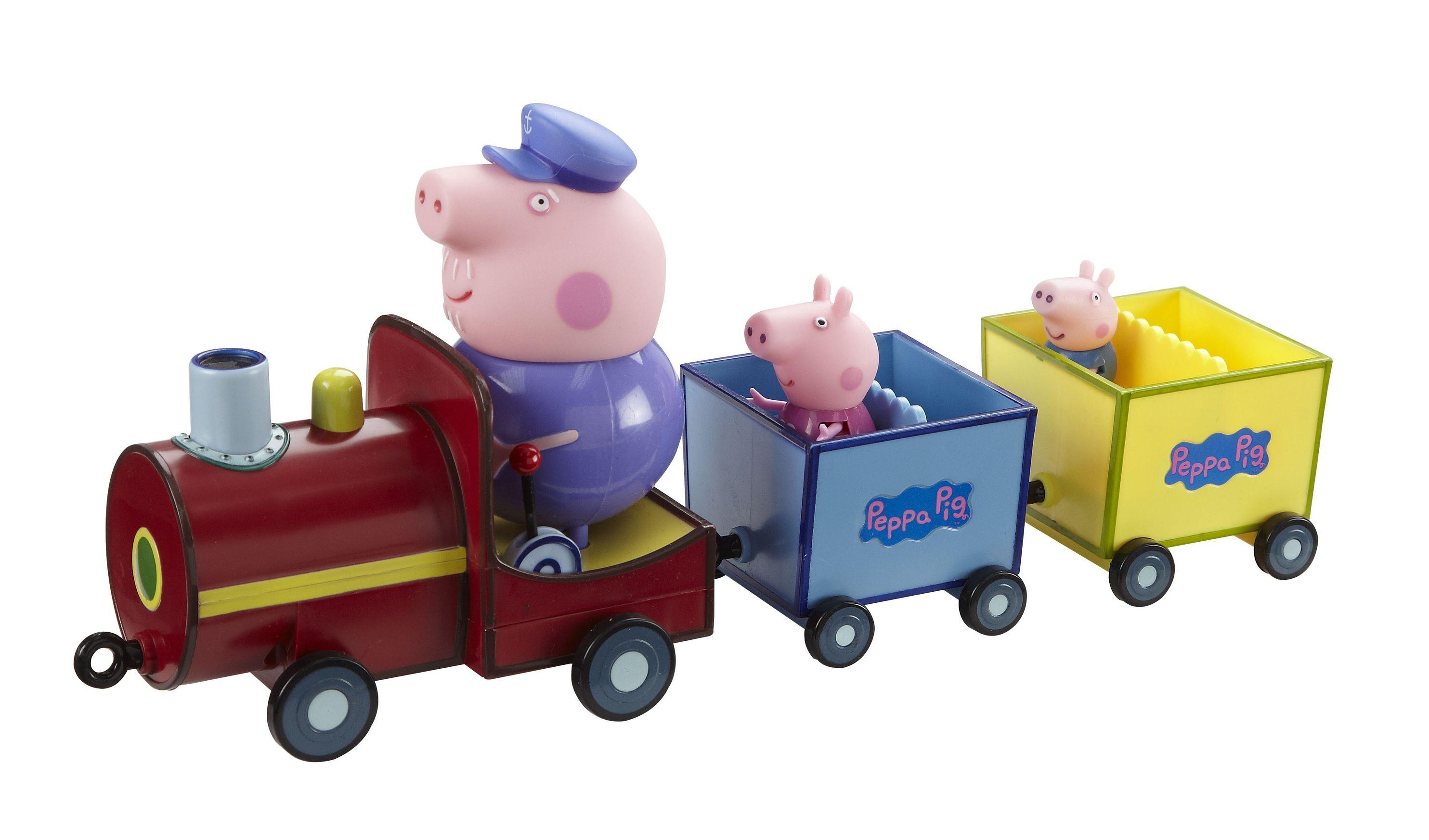 свинка пеппа игрушки бабушки и дедушки