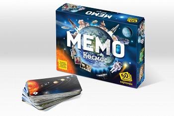 Развивающая Мемо Космос 50 карточек