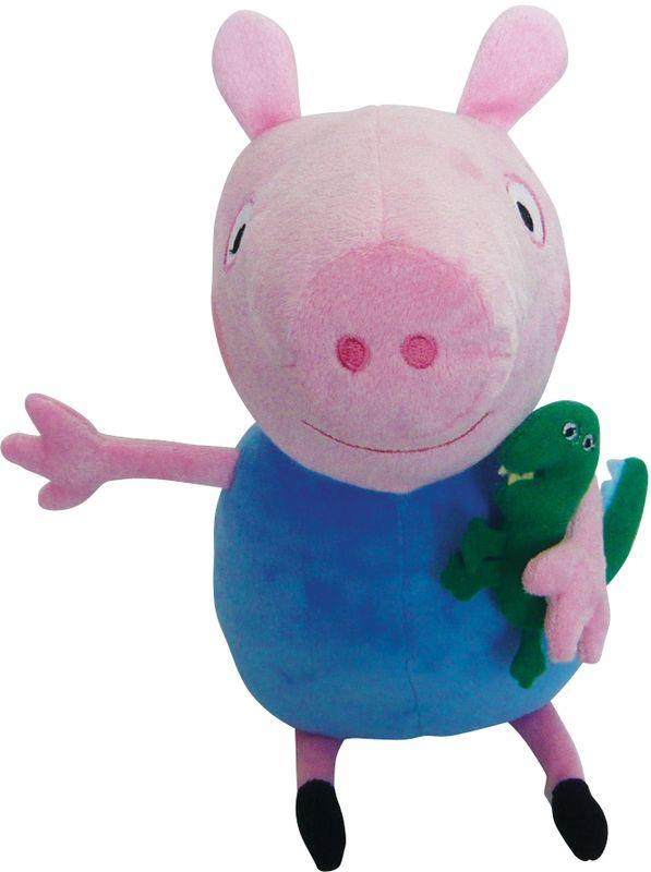 Мягконабивная Peppa Pig Джордж с динозавром 30 см.