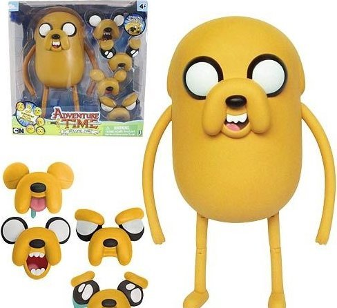 Мягконабивная Adventure Time Fat Jake плюш (18см)
