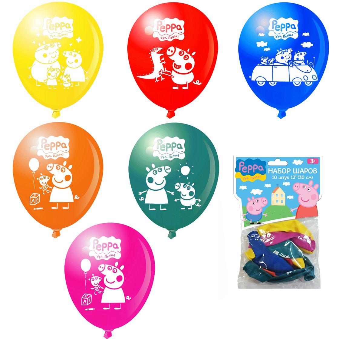 Воздушные шары свинка пеппа купить