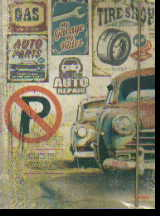 Тетрадь на кольцах Retro Cars