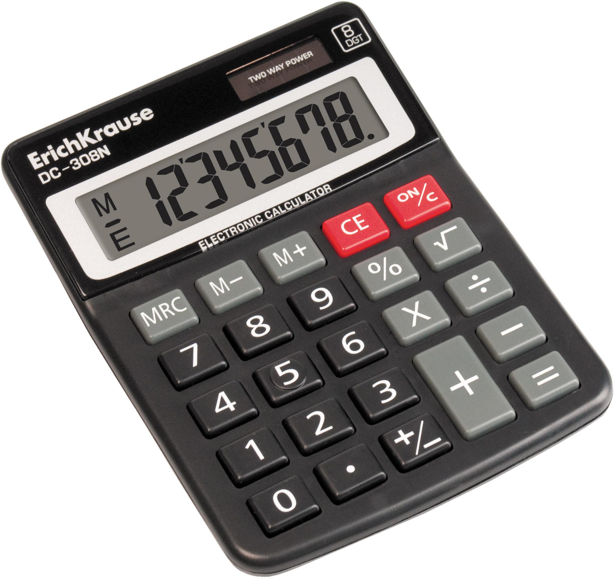 Калькулятор 8 разр. EK DC-308N