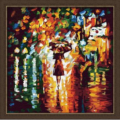 Картина стразами 40*50 В дождь