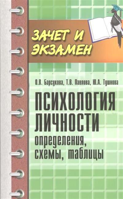 Психология личности: Определения, схемы, таблицы