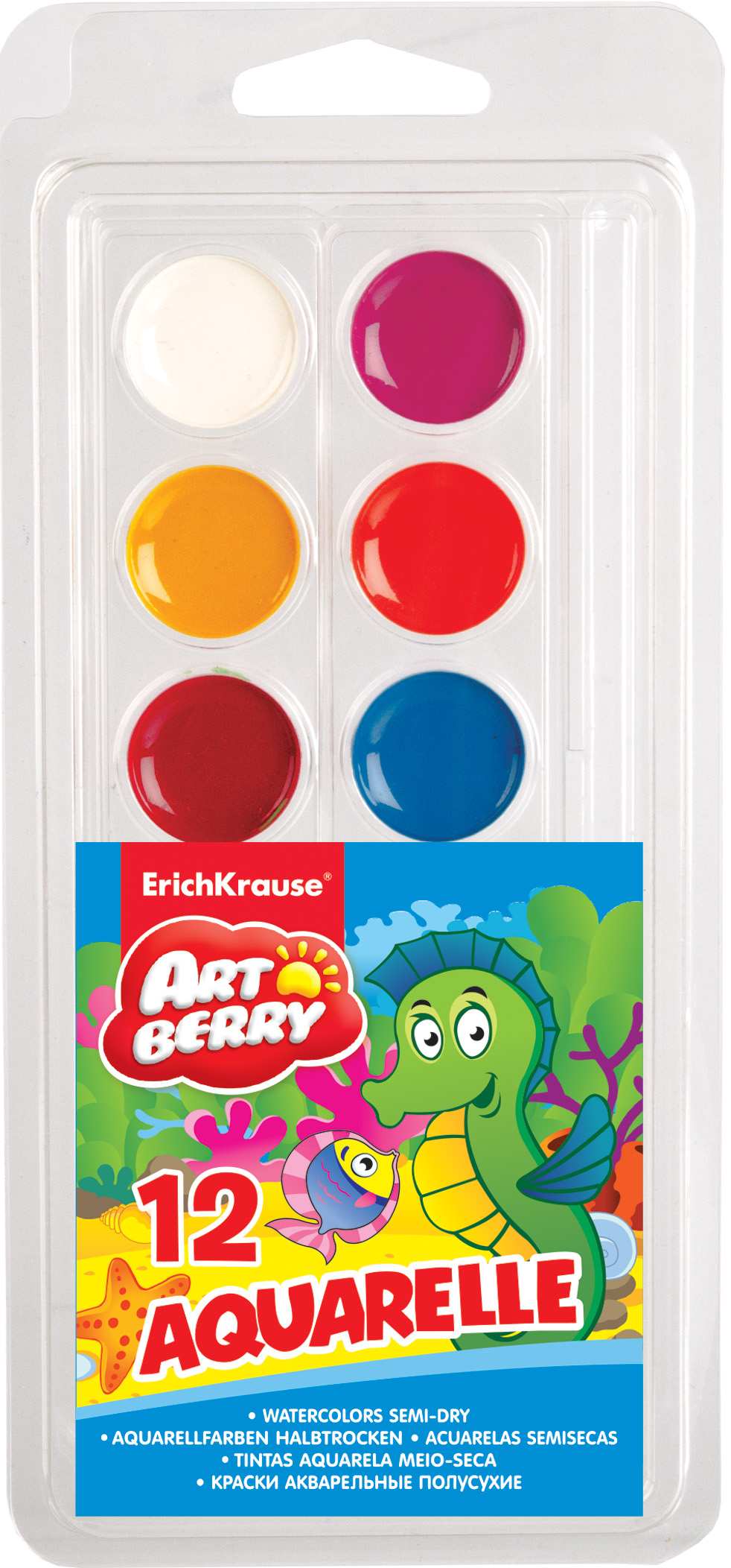 Краски 12цв ArtBerry (блистер)