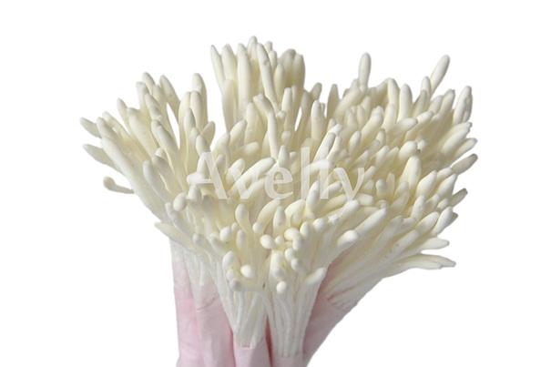 Тычинки Белые, длинные 500шт