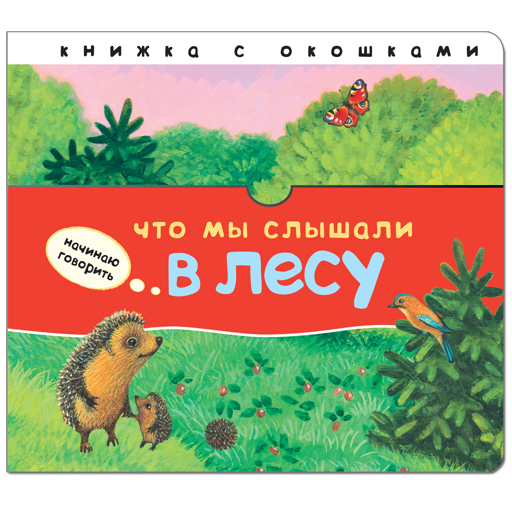 Что мы слышали в лесу: Книжка с окошками