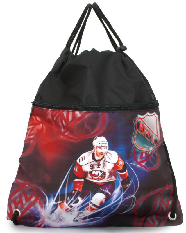 Мешок д/обуви Alliance Хоккей NHL черный