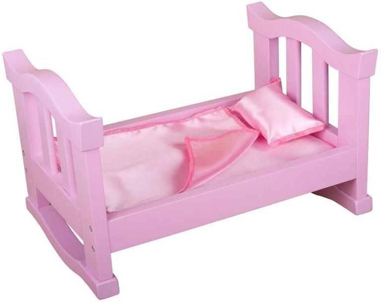 Кроватка для куклы деревян. мал.
