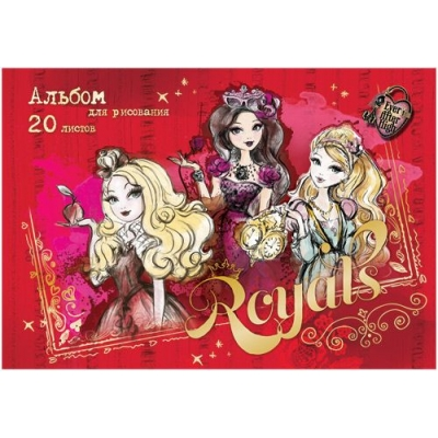 Альбом д/рис 20л Ever After High