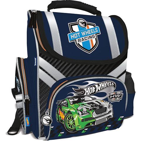 Рюкзак Hot Wheels ортопедический синий