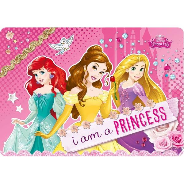 Коврик настольный 21*30 Disney Принцессы
