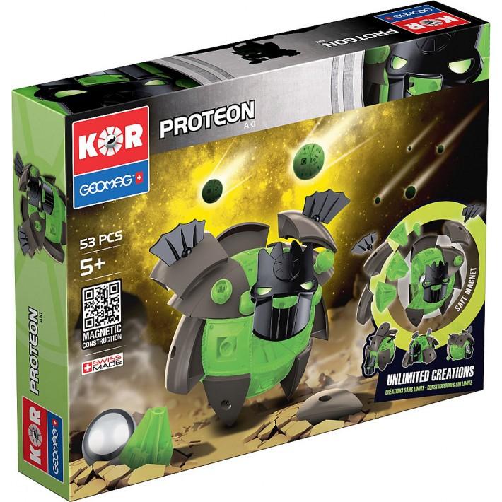 Конструктор магнитный Geomag Proteon 53дет