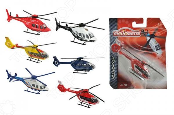 Вертолет метал, 6 видов