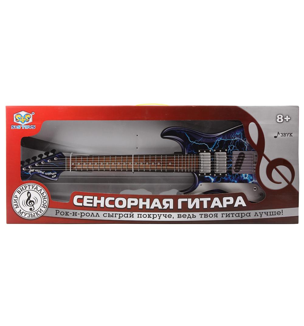 Гитара сенсорная Мир виртуальной музыки свет, звук, русифиц.