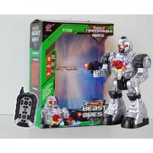 радиоуправляемая Робот Космический десант серый