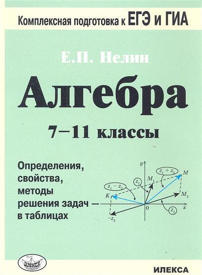 Алгебра. 7-11 кл.: Определения, свойства, методы решения задач... /+558064/
