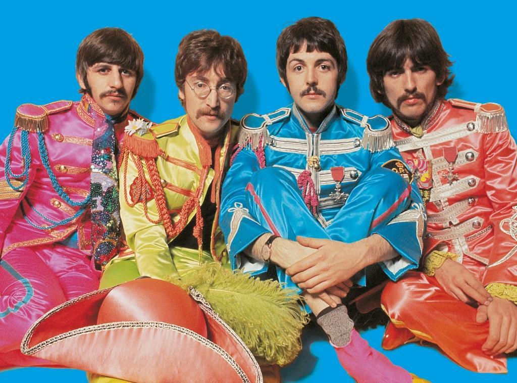 Пазл 500 Clementoni 21201 The Beatles Lucy in The Sky with Diamonds (в тубе