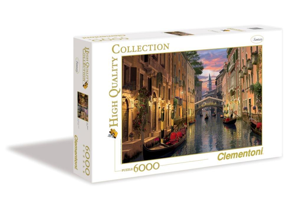 Пазл 6000 Clementoni 36517 Дэвисон Д. Венеция