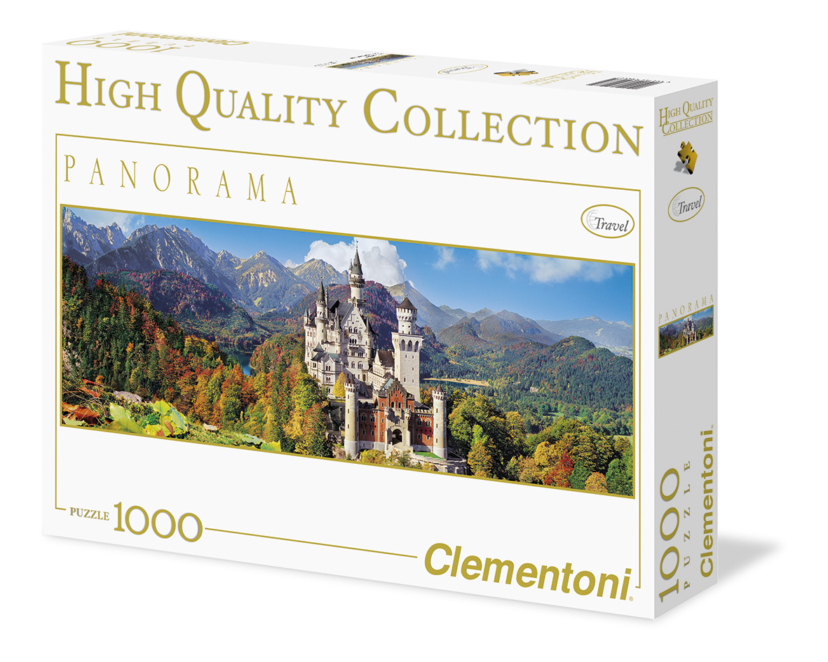Пазл 1000 Clementoni 39283 Бавария, Замок Нойшванштайн. Осень