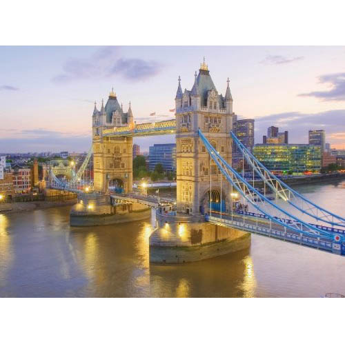 Пазл 1000 Clementoni 39022 Лондон, Тауэрский мост