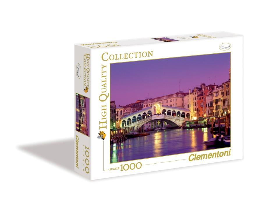 Пазл 1000 Clementoni 39068 Венеция, Мост Риальто