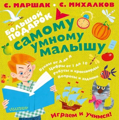 Большой подарок самому умному малышу: Комплект 4 книги