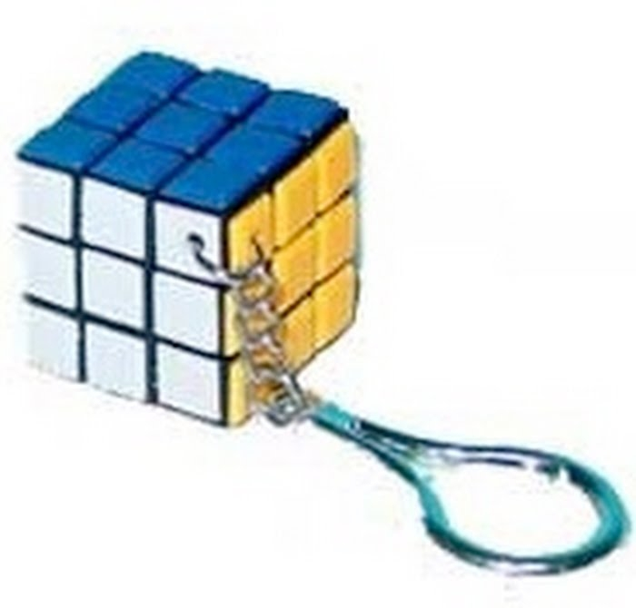 Брелок Кубик-рубик Головоломка пласт.