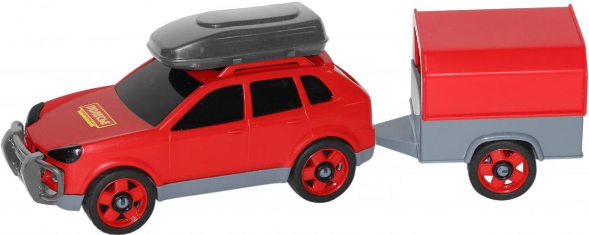 Автомобиль легковой с прицепом пласт.