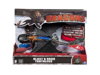 Dragons Большой Беззубик со свет. и звук. эффектами