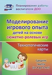 Моделирование игрового опыта детей на основе сюжетно-ролевых игр. Технолог