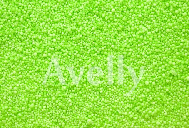 Декоративные шарики зеленые