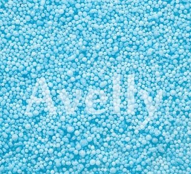 Декоративные шарики голубые