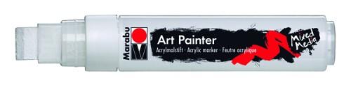Маркер Art Painter акриловый 15мм белый