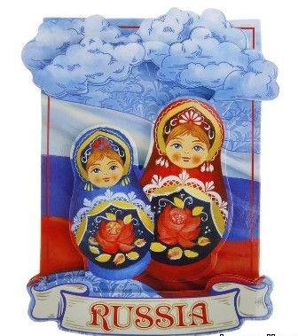 Магнит матрешки Russia 698422
