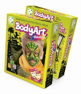 Живописная роспись лица BodyArt Драконы