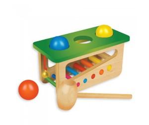 Музыкальная Забивалка-ксилофон дерев.