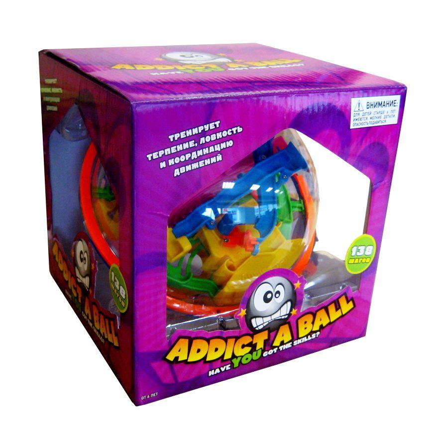 Логическая Addictaball Large (большой) 138 шагов шар-головоломка