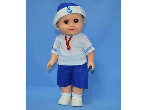 Кукла Артем-4 37см в футболке и шортах